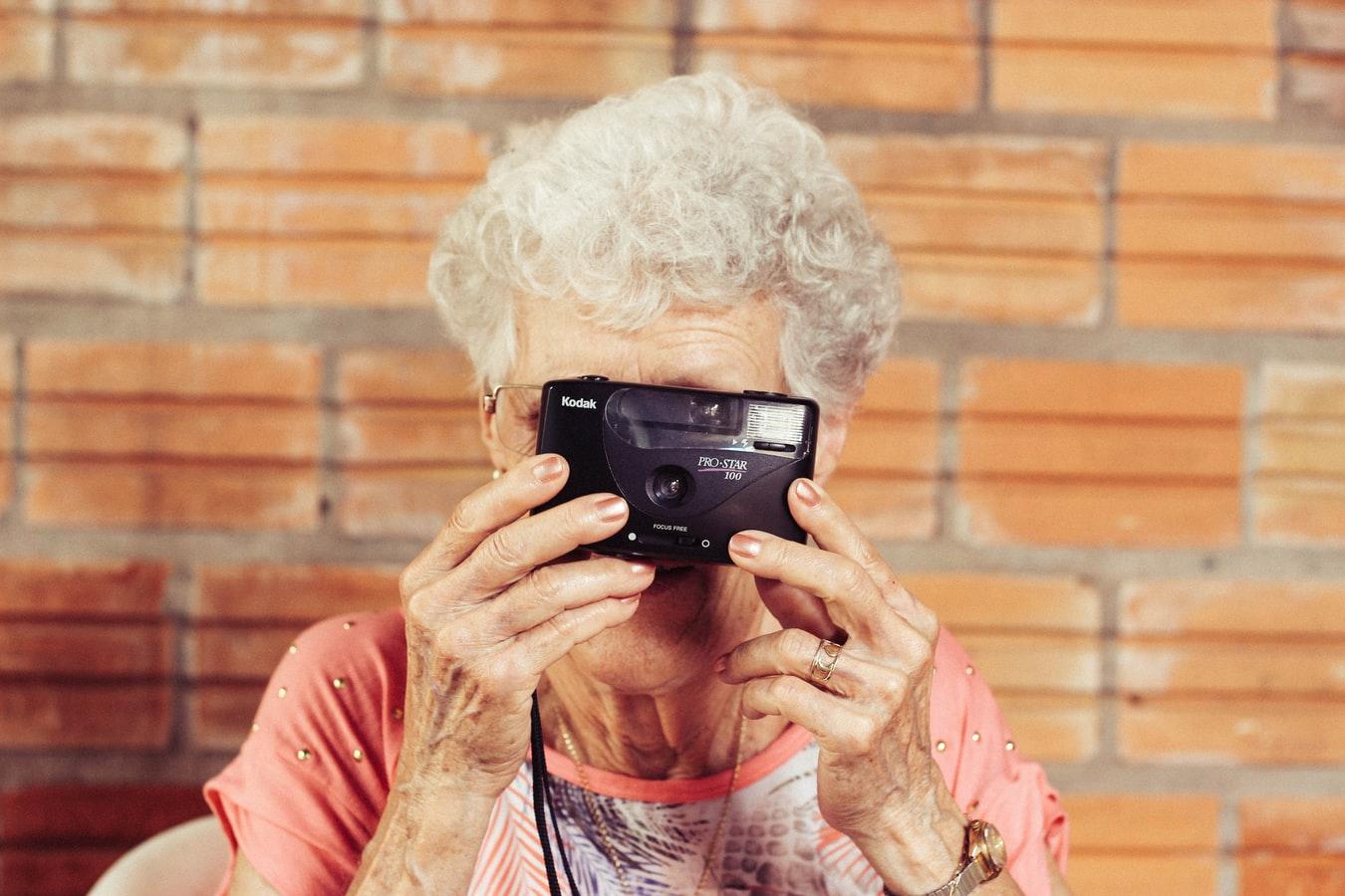 senior vrouw